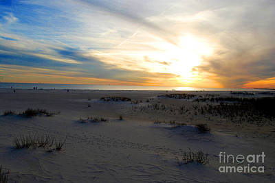 Photograph - Dauphin Sunset by Linda Mesibov
