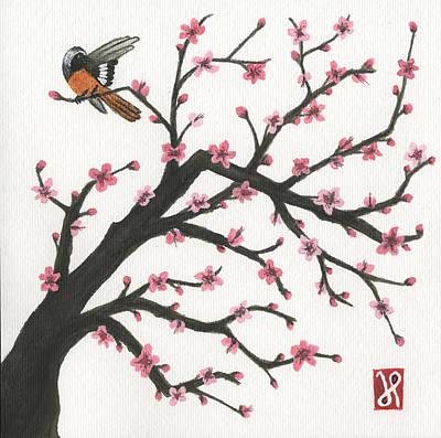 Daurian Redstart Art Print