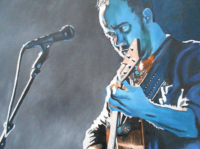 Painting - Dave Matthews 1 by Kevin J Cooper Artwork