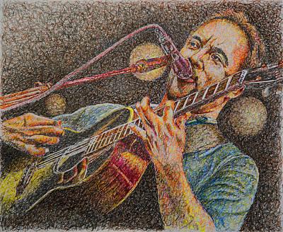 Dave Drawing - Dave Matthews by Breyhs Swan