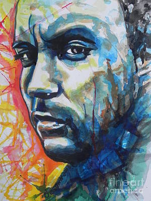 Music Paintings - Dave Matthews by Chrisann Ellis