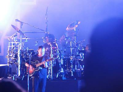 Photograph - Dave Matthews Jamming In Tampa Flordia  by Aaron Martens