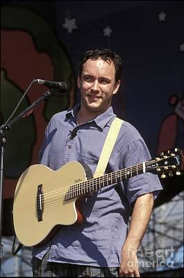 Dave Matthews Photograph - Dave Matthews by Concert Photos