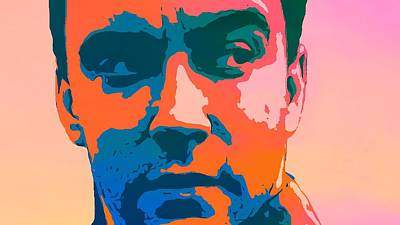 The Dave Matthews Band Digital Art - Dave Matthews Pop Art by Dan Sproul