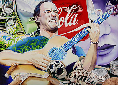 Dave Matthews Seek Up Art Print
