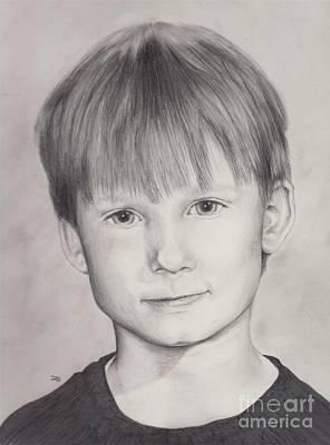 Drawing - Dave by Tlynn Brentnall