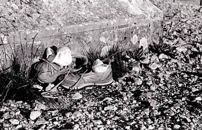 Photograph - Dave's Shoes by Guy Pettingell