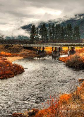 Photograph - Daveys Bridge by Sam Rosen