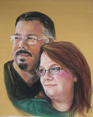 Pastel - David And Laura by Martha Suhocke