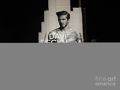 Photograph - David At Night by Ed Weidman