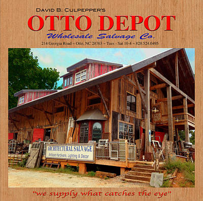 David B. Culpepper's Otto Depot 2 Art Print by Robert J Sadler