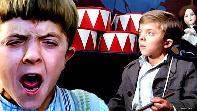 Digital Art - David Bennent In The Film The Tin Drum by Gabriel T Toro