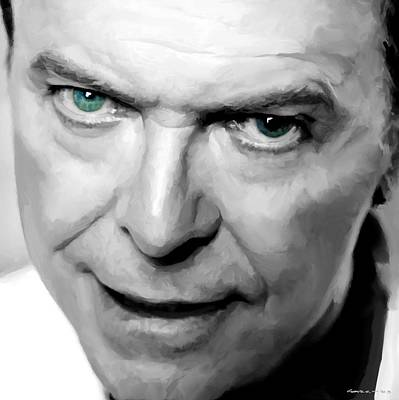 David Bowie In Clip Valentine's Day - 1 Art Print