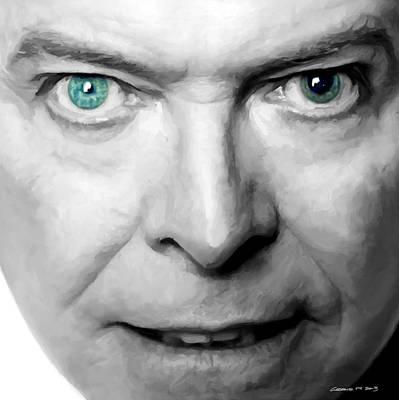 David Bowie In Clip Valentine's Day - 3 Art Print