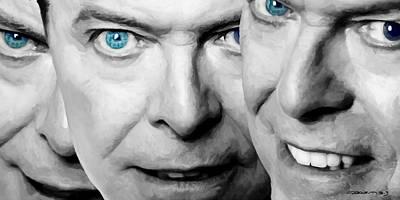David Bowie In Clip Valentine's Day - 4 Art Print