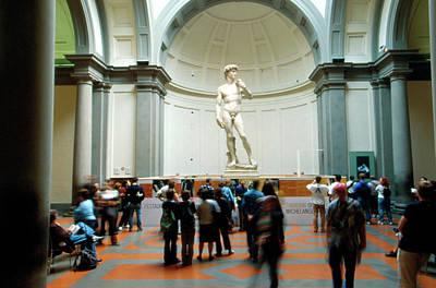 David By Michelangelo Art Print