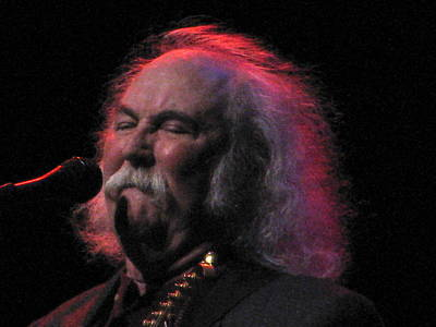 Graham Nash Photograph - David Crosby 2 by Melinda Saminski