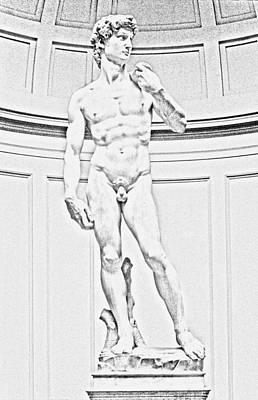 Michelangelo Digital Art - David Digital Artwork by Georgeta Blanaru