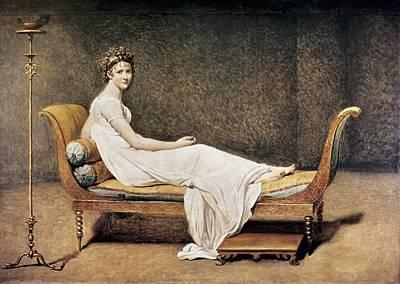 David, Jacques-louis 1748-1825. Madame Art Print