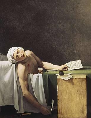 David, Jacques-louis 1748-1825 Marat Art Print