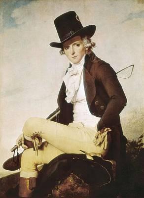 David, Jacques-louis 1748-1825. Pierre Art Print