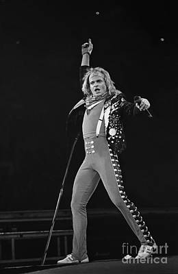 David Lee Roth Photograph - David Lee Roth by Concert Photos
