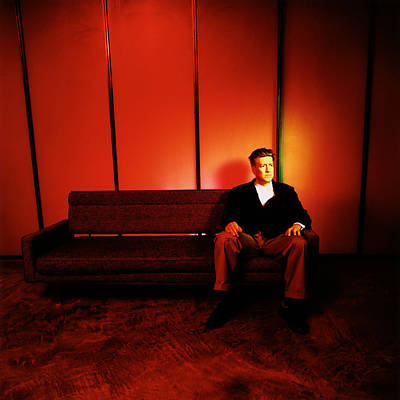Photograph - David Lynch Red by Yo Pedro