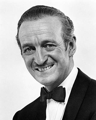 Bedtime Story Photograph - David Niven In Bedtime Story  by Silver Screen