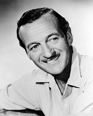 Bonjour Photograph - David Niven In Bonjour Tristesse  by Silver Screen
