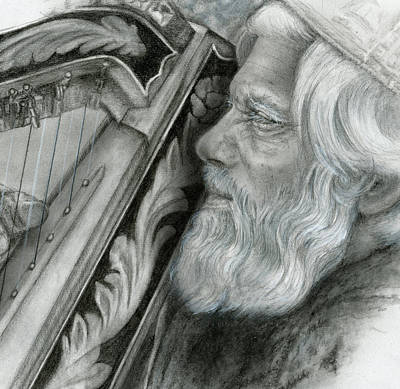 Drawing - David by Penny Collins