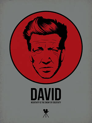 Series Digital Art - David Poster 1 by Naxart Studio