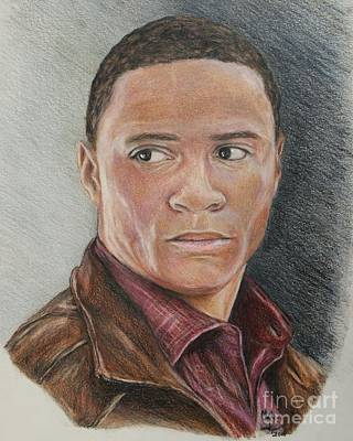 Drawing - David Ramsey / John Diggle by Christine Jepsen