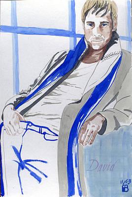 Painting - David by Sylvie Proidl