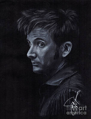 Drawing - David Tennant 3 by Rosalinda Markle