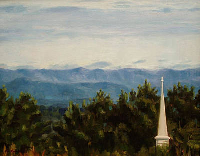 Painting - David's View by Erin Rickelton