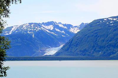 Photograph - Davidson Glacier by Betty-Anne McDonald