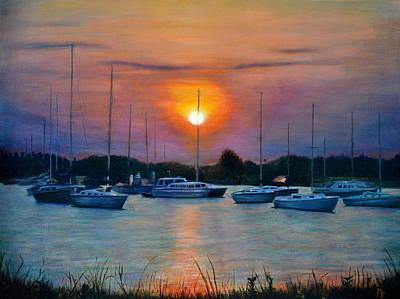 Painting - Davis Island by Maxx Phoenixx