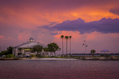 Davis Island Yacht Club Art Print by Marvin Spates