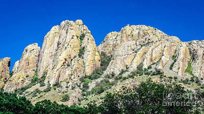 Davis Mountains Of S W Texas Art Print