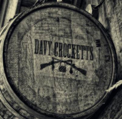 Davy Crocketts Whiskey Print by Dan Sproul