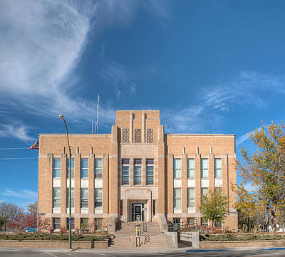 Photograph - Dawes County Courthouse by HW Kateley