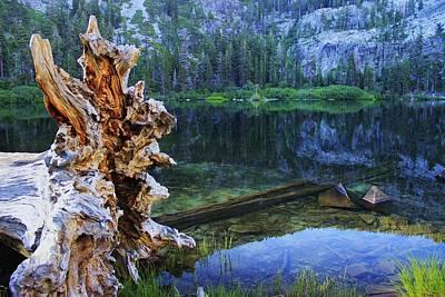 Art Print featuring the photograph Dawn Arrives At Eagle Lake by Sean Sarsfield