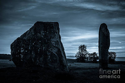 Dawn At Avebury Stone Circle Art Print