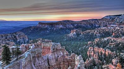 Dawn At Bryce Canyon Art Print