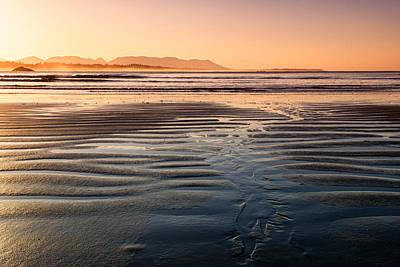 Ebbtide Photograph - Dawn At Long Beach by Allan Van Gasbeck