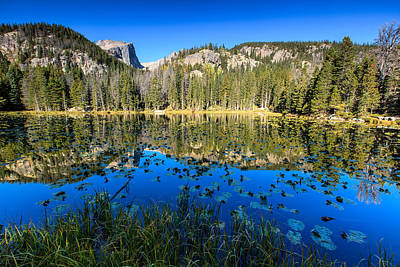 Photograph - Dawn At Nymph Lake by Ben Graham