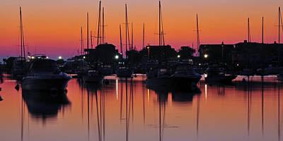 Dawn At Oak Bluffs Art Print by Dan Myers