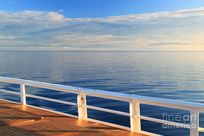 Photograph - Dawn At Sea by Jeanette French