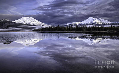 Photograph - Dawn At Sparks Lake II by Stuart Gordon