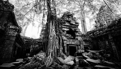 Dawn At Ta Prohm Art Print